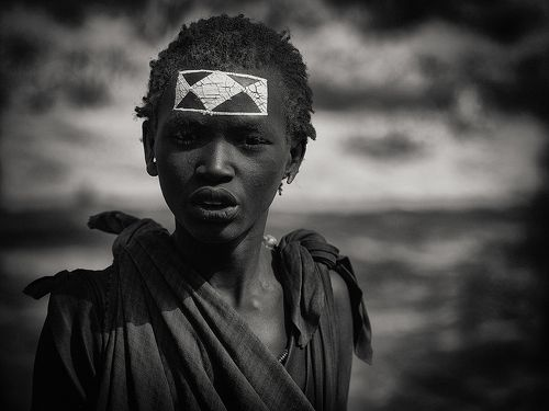 Мальчик из племени масаи