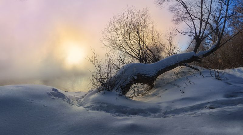 тула, тулица, воронка, косая гора Тульская зима. Этюдыphoto preview