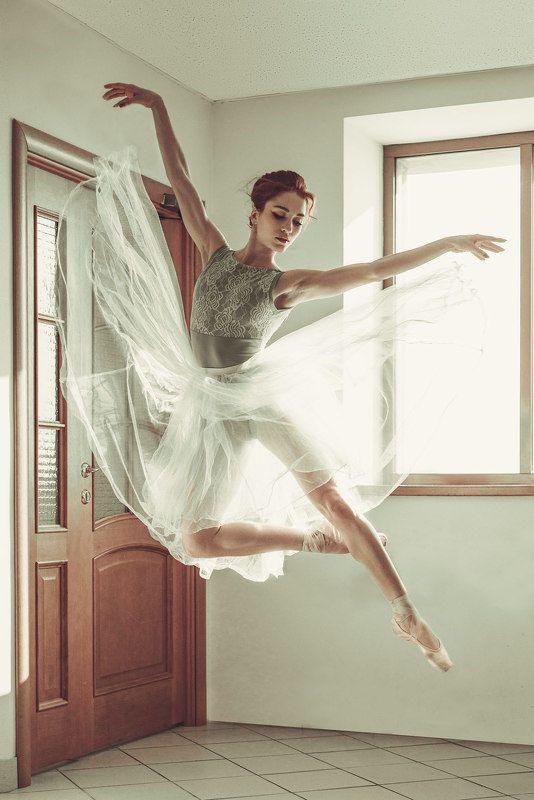 девушка, балерина, портрет, утро, красота, секас the breath of springphoto preview