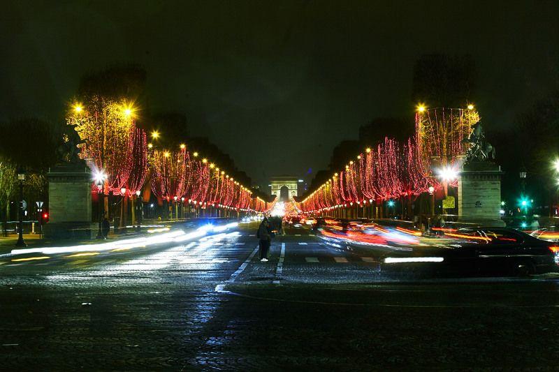 Ночь на Елисейских Полях… Париж. Францияphoto preview