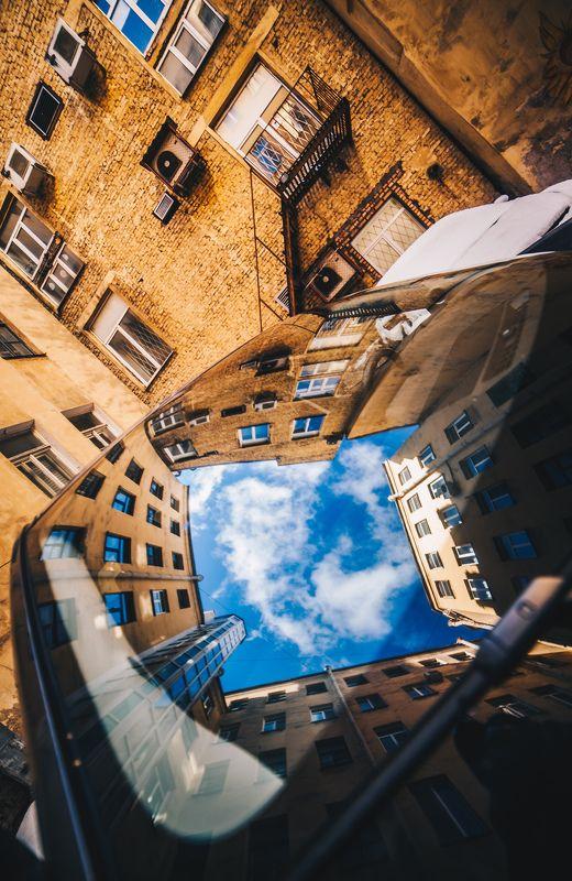 Двор колодец на Пушкинскойphoto preview
