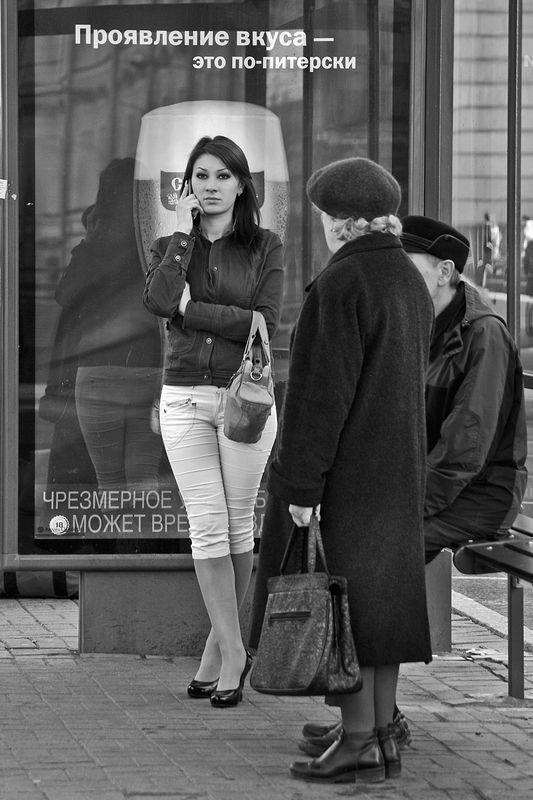улица, спб, город, девушка, взгляд, апатиты Проявление вкуса - это по-питерскиphoto preview