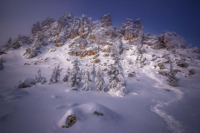 урал, таганай, зима Утро на Откликномphoto preview