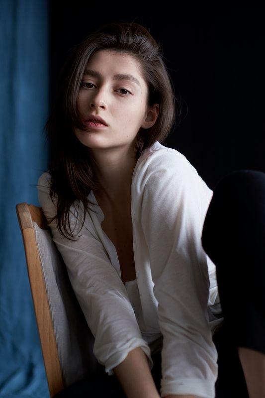 девушка, глаза, портрет, естественный свет, студия, portrait, girl, eyes, studio, sigma, sony Маринаphoto preview