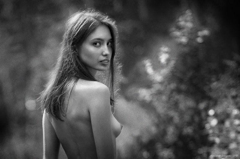 девушка,красота,нежность,настроение,ч/б Эммануэльphoto preview