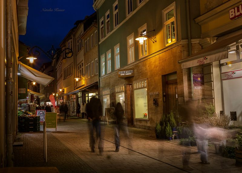 Призраки вечернего города...Eisenach.photo preview