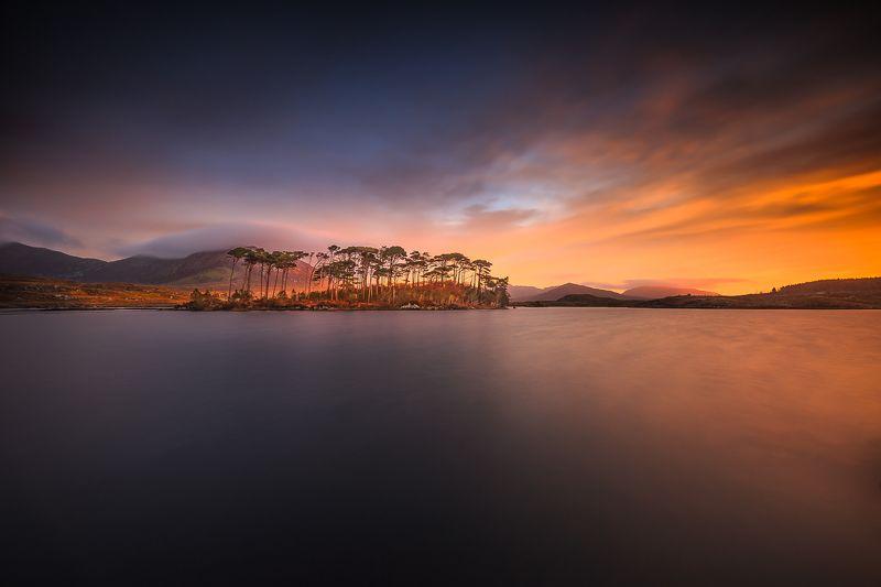 longexposure, sunrise, sunset, landscapes, Ireland, clouds,  Connemaraphoto preview