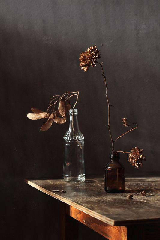 натюрморт, веточки, скляночки, зима Веточки и скляночкиphoto preview
