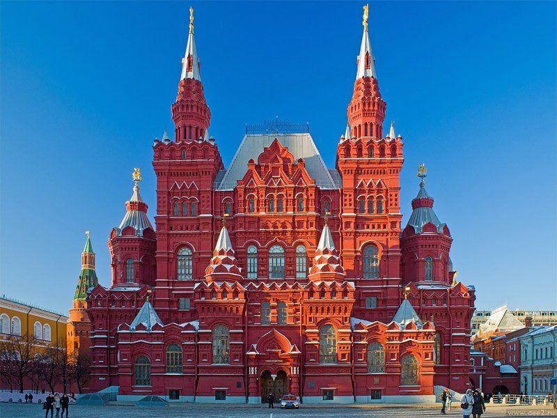 исторический музей, красная площадь, москва, центр Историческийphoto preview