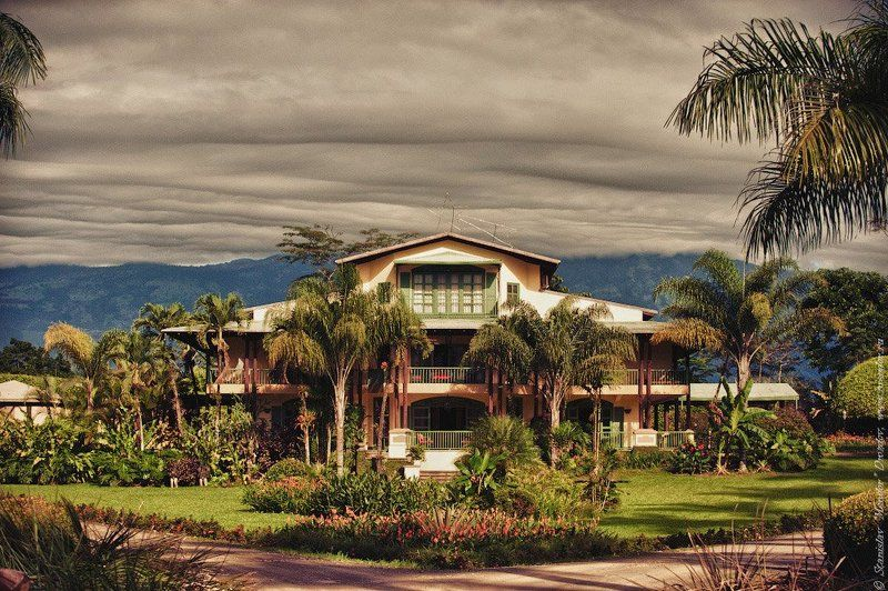 hotel, travel, costa rica, america, sky, clouds Welcome to the hotel California...photo preview
