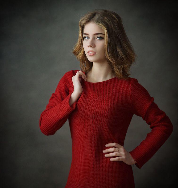 девушка, портрет Екатеринаphoto preview