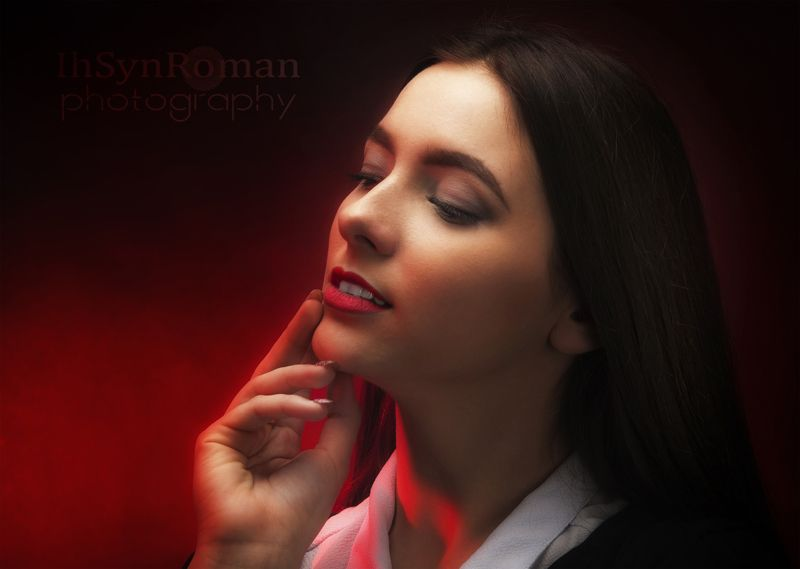 девушка, портрет, студия В лицах ...photo preview