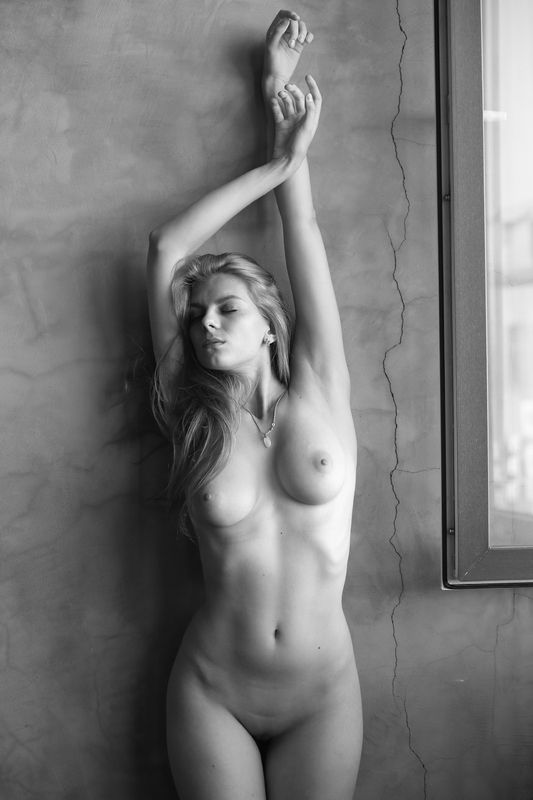 Nude, akt, b&w,girl, canon,canonlens, beauty,oleg_grachev, олег_грачёв,ню, девушка,обнажение, красота, Nadezda 35photo preview