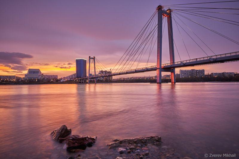 Закат на Енисееphoto preview