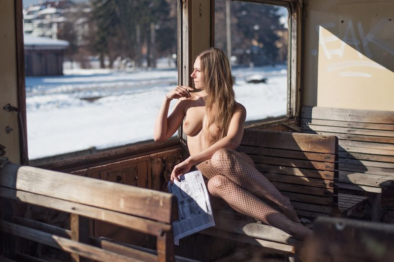 #nude, #ню My Last Trainphoto preview