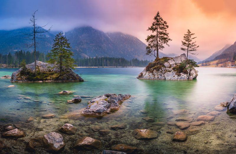 Hintersee, lake, mountains ALPINE TREASUREphoto preview