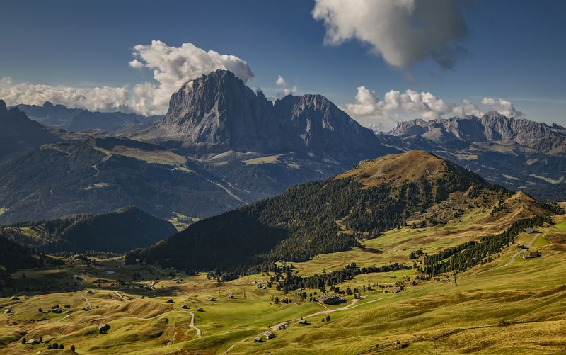 горы, италия, альпы разбросалоphoto preview