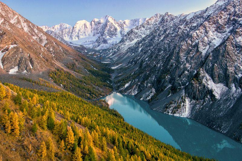 алтай,горы полёт над Шавлойphoto preview
