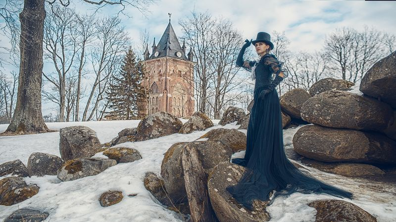 готика, пленер, портрет, жанр, rekhov Готикаphoto preview