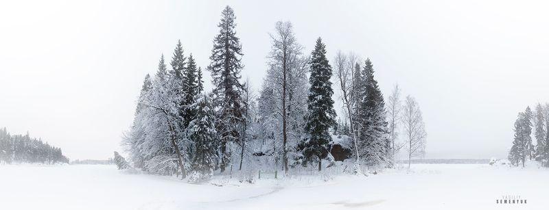 выборг, монрепо, людвигштайн, панорама, зима, кладбище, остров, настроение. Остров мёртвых.photo preview