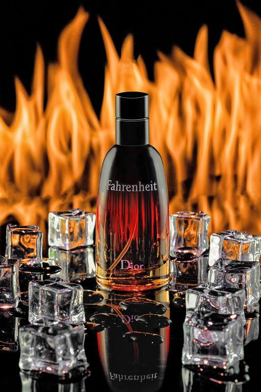 парфюм, лед, пламя, фаренгейт, натюрморт, огонь Лёд и поламеньphoto preview