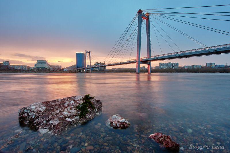 мост Этапы съемки вантового мостаphoto preview