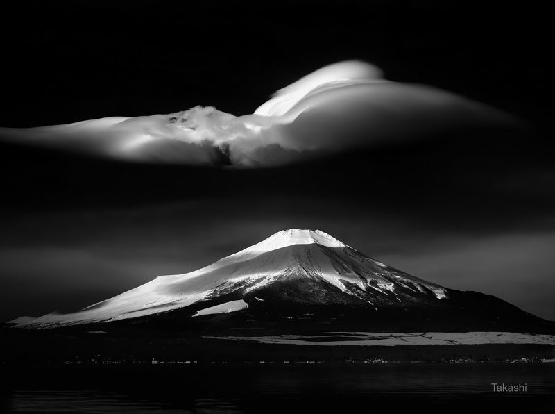 Fuji,mountain,Japan,cloud,snow,amazing,lake Cloud on the lakephoto preview