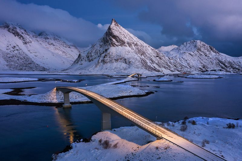 norway, lofoten, lofoten islands, Мосты Фредванг.photo preview