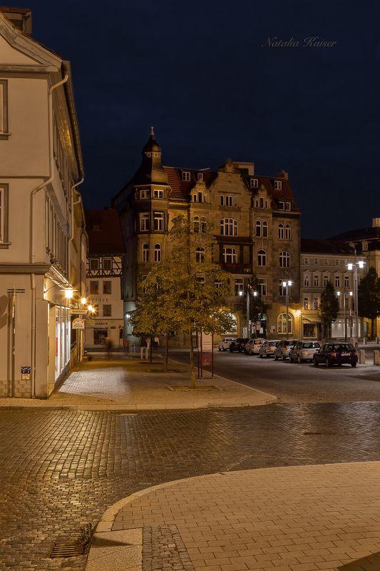 Старинный центр немецкого города Eisenach...photo preview