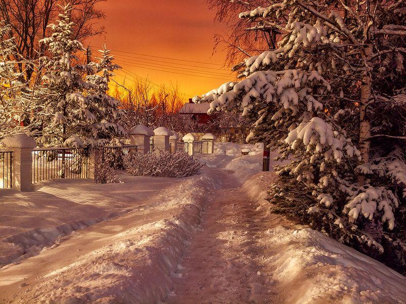 Из зимненочного....photo preview