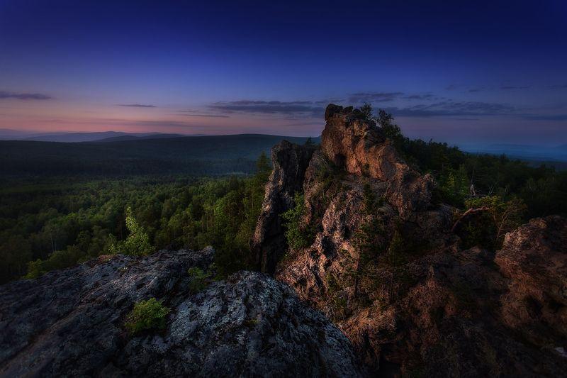 Вечер на Урал-тауphoto preview