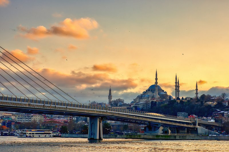 сулеймание, стамбул, турция, путешествия Сулейманиеphoto preview