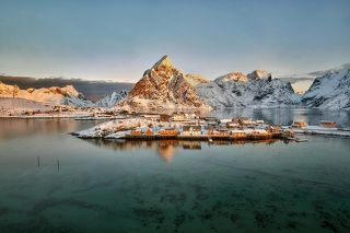 Morning on Lofoten