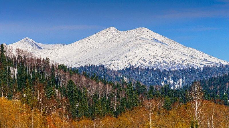 пейзаж, горы, весна, Кузнецкий Алатау  В горах весна! photo preview