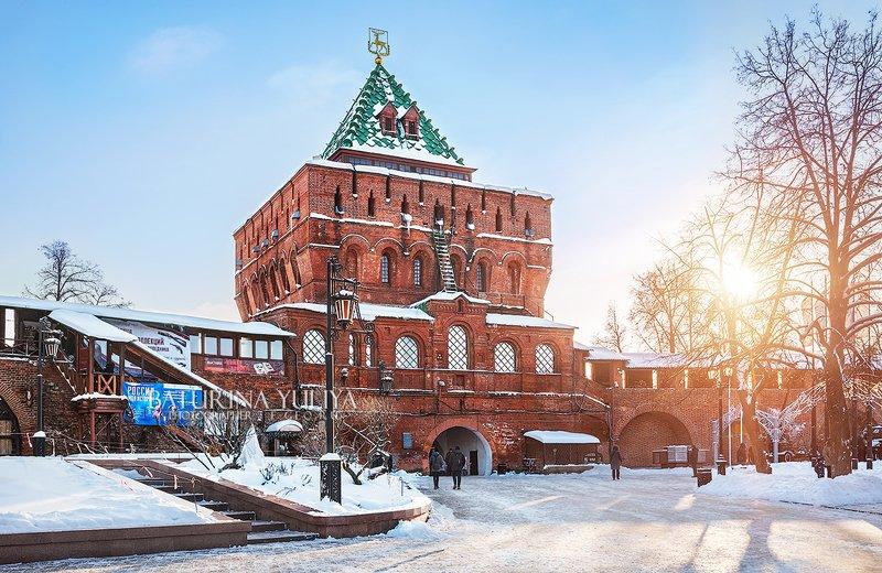 нижний новгород, дмитриевская башня Дмитриевская башняphoto preview