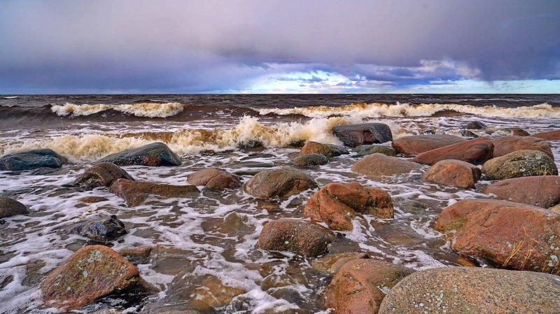 берег волна Балтийский берег.photo preview