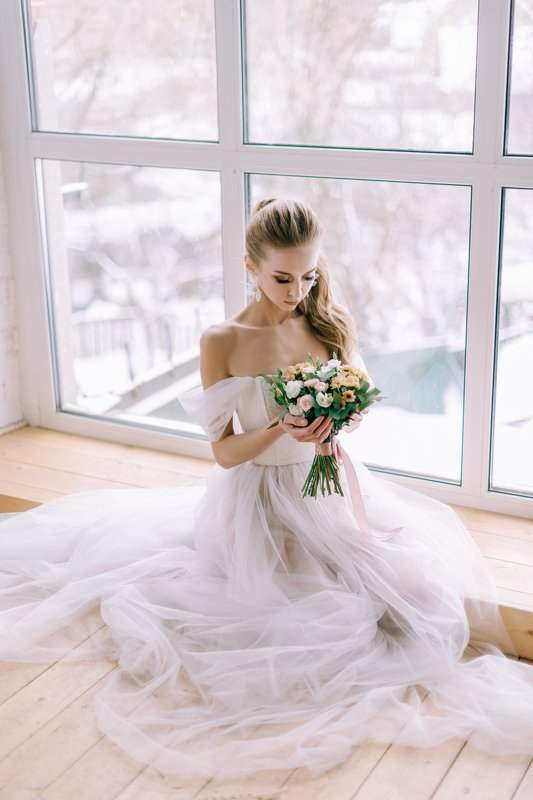 girl, portrait, nikon, 50mm, russia, spring Annaphoto preview
