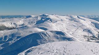 С вершины Говерлы - на весь Черногорский хребет!