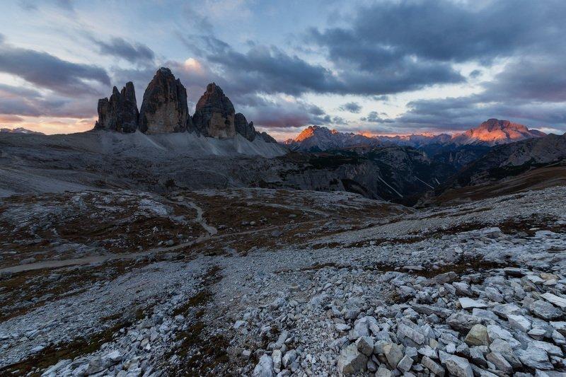 Тре Чиме, Доломитовые Альпы, Италияphoto preview