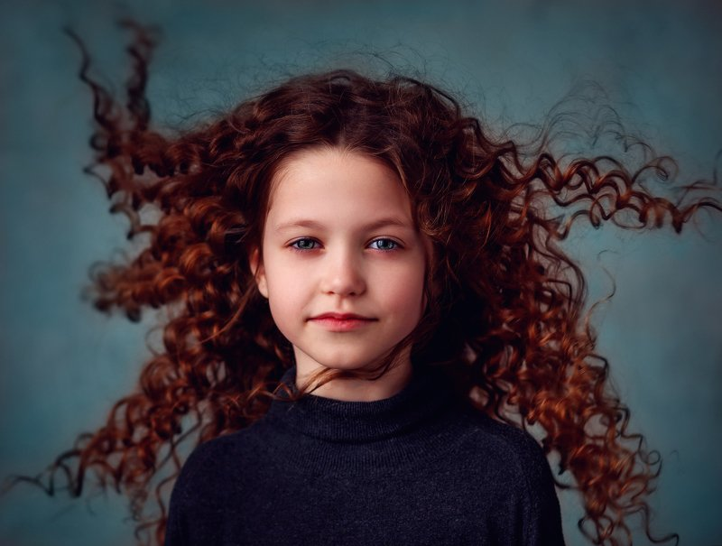 портрет ребенок Аринаphoto preview