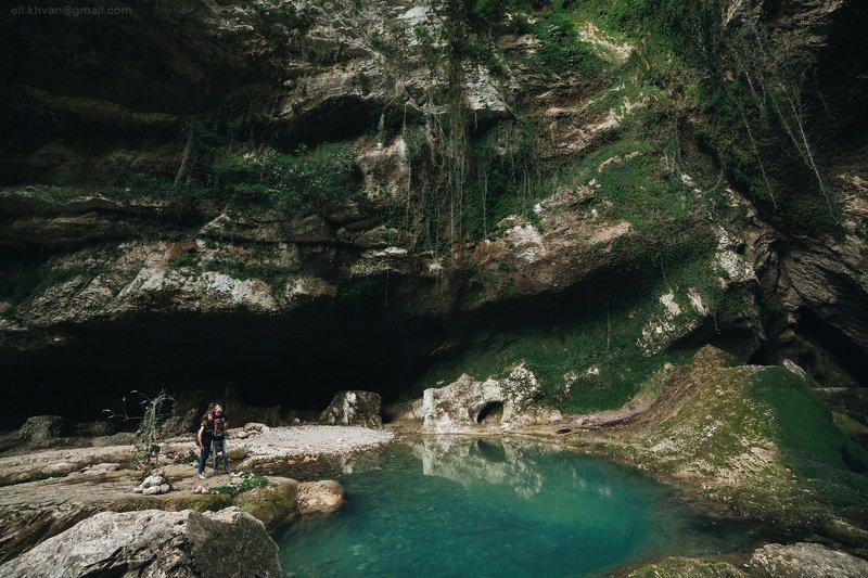 Грот у водопада Глубокий Ярphoto preview