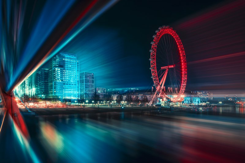 motion, london, europe, cityscape, abstract, concept Warpphoto preview