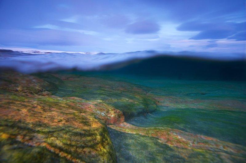 север, баренцево море, сплит Гранитное побережье Мотовского залива.photo preview