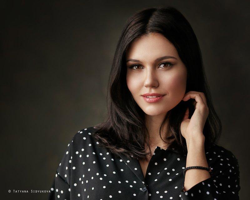 девушка, красивая, брюнетка, красивый портрет, портрет, tanyasid, Allaphoto preview