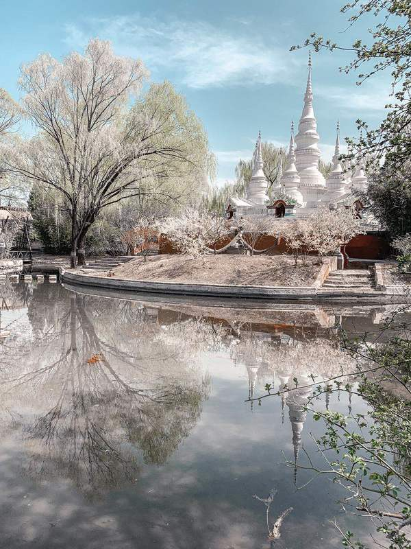 beijing landscape day temple nature water Beijingphoto preview