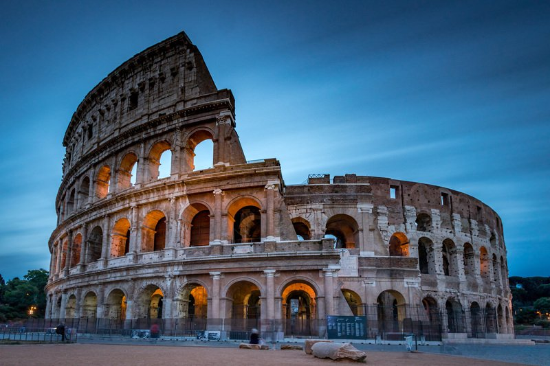 Rome, Italy, colliseum, long exposure, architecture, old Colliseumphoto preview