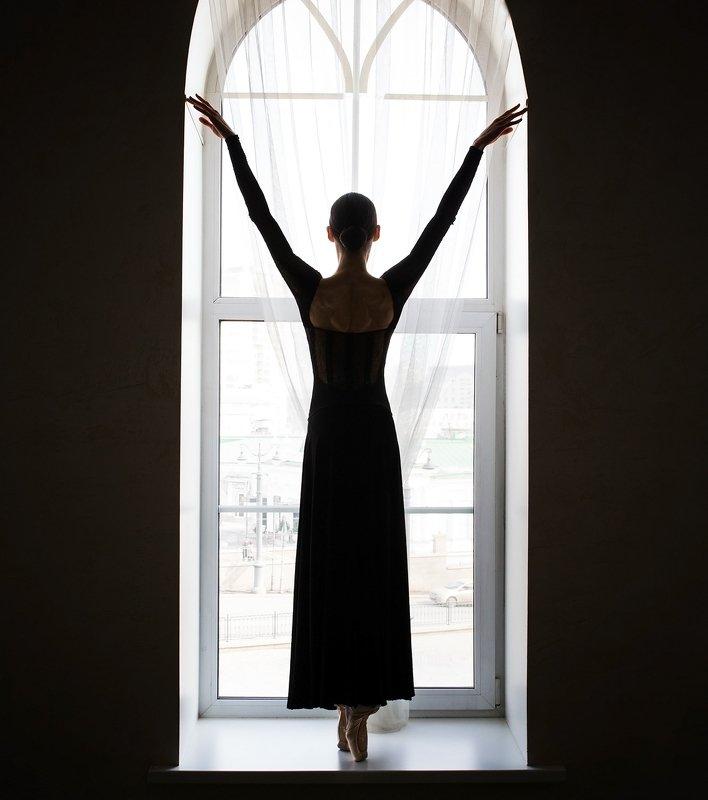 балет девушка танец портрет балерина Екатеринаphoto preview
