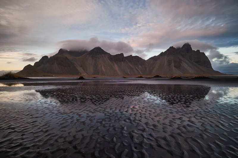 iceland,water,iceberg,ice,long,waves,coastal,cliffs,vestrahorn,mountains,stokksnes Iceland4photo preview