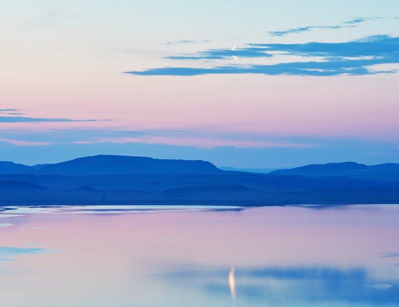 рассвет , озеро, хакасия В ожидании рассветаphoto preview