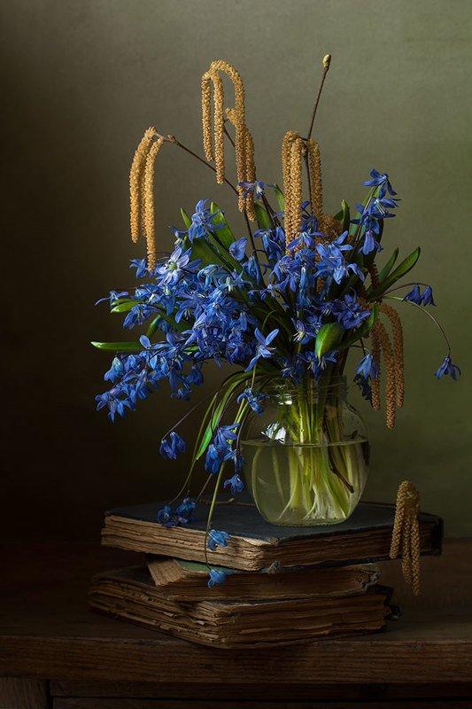 Голубой весны сережки